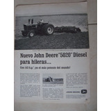 Tractor John Deere 5020 Diesel Clipping