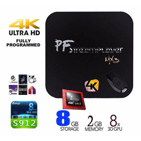 Mini Mx3 Plus Android Tv Box Quadcore Memoria: 2 + 8g