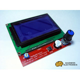 Panel De Control Lcd 12864 Para Impresora 3d