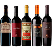 Vino Rutini + Luigi Bosca + Alamos + Bianchi + Linda