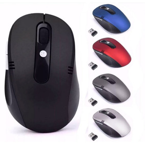 Mouse Óptico Sem Fio Usb Wireless 2.4ghz Para Pc E Notebook