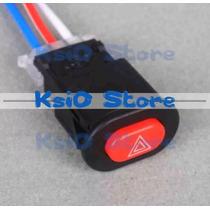 Botão / Interruptor Pisca Alerta Para Moto Original Ks