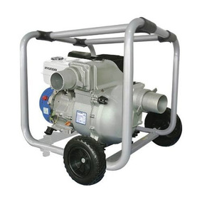 Bomba De Agua Hyundai 4x4 Tragasolidos 13.1hp Hyw4013ts