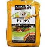 27 Kg, Alimento Croquetas Cachorro Kirkland, Envio Gratis