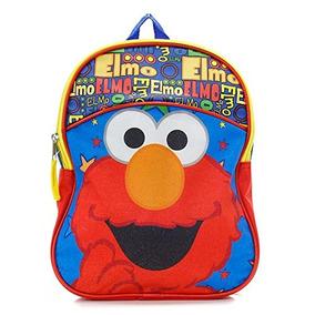 Sesame Street Elmo Pr¿-escolar Mochila De Crian¿a (11-inch
