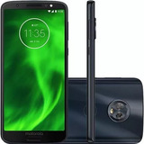 Celular Moto G6 Plus Índigo Tela 5,9, 64gb 12mp Tv Com Nf