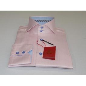 Camisa Finísmia De Algodón Egipcio Corte Moderno Axxess