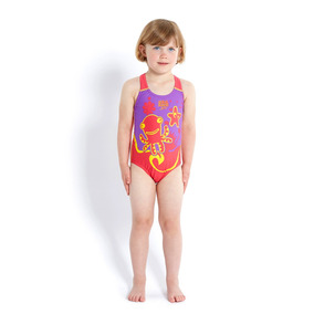 Malla Enteriza Speedo Infantil Sea Squad Placement 1-6 Años