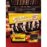 4k Rapido Y Furiso 6 + Blu Ray... Somos Cine 3-d Mania.