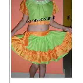 Traje De Rumbera Para Niñas Trajes Para Baile Disfraces