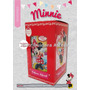 Perfume Infantil Minnie Con Lámina 3d De Regalo. Disney.
