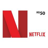 Cartão Netflix R$ 50 Reais