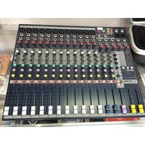 Mesa De Som Soundcraft Efx 12 Pronta Entrega