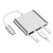 Adaptador Usb C Hub Dex Mode Mac Macbook Air Pro Hdmi 4k