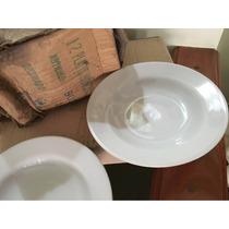 Plato Hondo Porcelana Reforzada Ud Remanente Fábrica Liquido