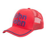 Bonés Jonh Jonh Vermelho E Escrita Azul Original !!!