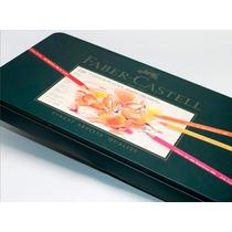 Lápis De Cor Faber Castell Polychromos-120 Cores + Apontador