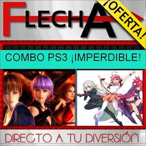 Combo Dead Or Alive 5 + Arcana Heart 3 - Digital Ps3 | Fg»