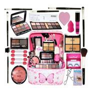 Maleta De Maquiagem Completa Kit Pinceis Kit Maquiagem Top