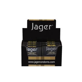 Preservativos Jäger - Ultra Fino - 8 Estuches Con 3 Un.