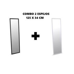 Combo X 2 Espejos 125x34 Cm El Precio Es Por Las Dos