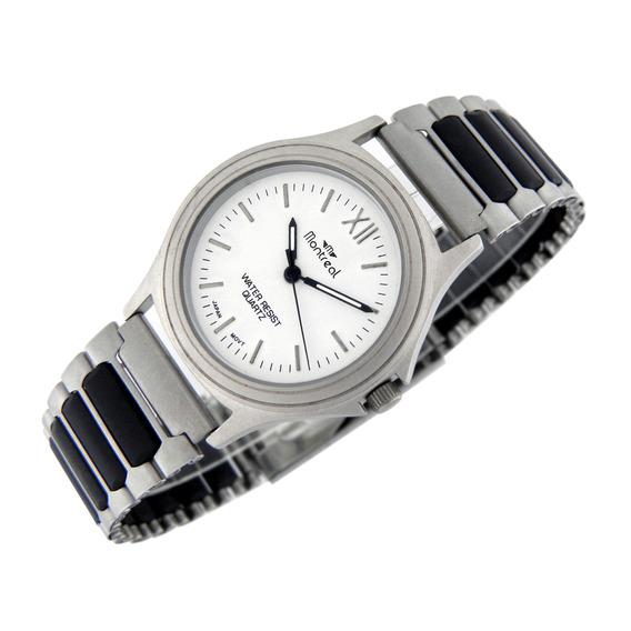 Reloj Montreal Hombre Ml749 Extra Chato Envío Gratis