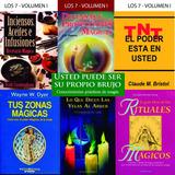 Libros Magia,rituales, Proteccion, Velas, Energia , Fuerza