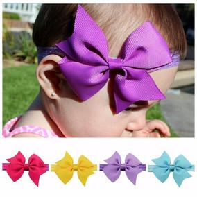 Laços Cabelo Infantil Faixa Tiara Bebê Kit Com 20 Cores