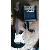 Venta Guitarra Yamaha Eg303 Y Amplificador Marshall 40 Watts