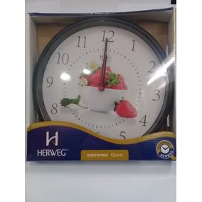 6f371b553a5 Relógio De Parede Herweg 6627 37cm Copa Cozinha - Joias e Relógios ...