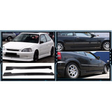 Juego De Estribos Honda Civic Coupe / Hatchback 1996 - 2000