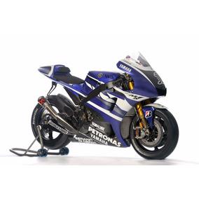 Moto Yamaha Yzr-m1 Para Armar - Patrones Plantillas