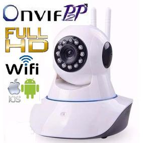 Câmeras Ip 2mp Wireles Wifi Sem Fio Onvif Audio Full Hd P2p