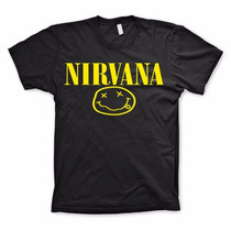Blusa Personalizada Barata Rock And Roll 100% Nirvana
