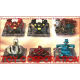 Combo Pack 5 Bakugan Battle Brawlers + Cinco Cartas Souvenir
