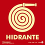 Placa De Sinalização Hidrante De Incêndio 18x18 - Encart