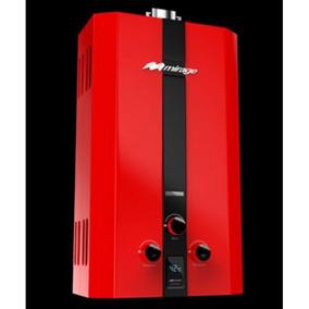 Boiler Gas Lp Serie Flux 10l/min Color Rojo Mirage