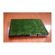 Repuesto Pasto Sintético Para Bandeja Sanitaria M 35x50 Soul