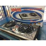 Cocina Eléctrica Portátil 2 Hornilla Broax 110v 60hz 2000w