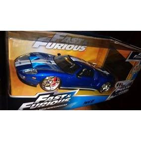 Ford Gt Rapido Y Furioso. Sin Caja En Escala 1/24 De Jada.