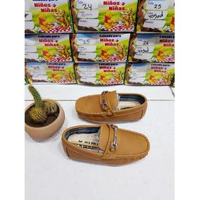 Zapatos Niño Mocasín Apache Miel Para Niño Todas Las Tallas