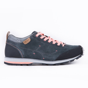 Zapato Mujer Woods Low Gris Lippi
