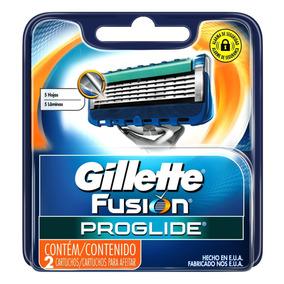 Kit 3x Carga Gillette Aparelho Barbear Fusion Proglide C/2un