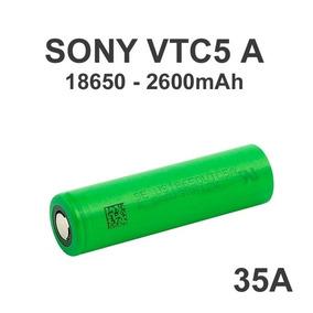 2x Baterías 18650 Sony Vtc5a Vapeosur