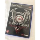 Juego Ps2 Mortal Kombat Deadly Alliance *pal