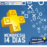 Playstation Plus 14 Dias Psn Ps3 Ps4 Psvita