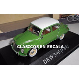 Dkw 3=6 ( F94 ) Auto Union Clasico En Argentina - Atlas 1/43
