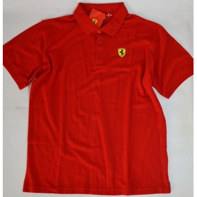 Camiseta Polo Ferrari Masculina Original