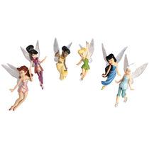 Set De Figuras De Tinkle Bell Hadas Disney Collection
