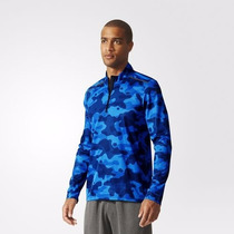 Campera Adidas Climacool Training Running Color Azul Militar